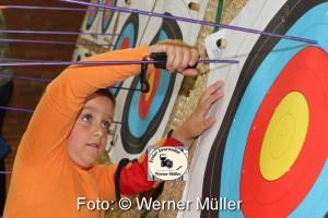 2015-10-09 Bogenschützen Foto:Werner Müller